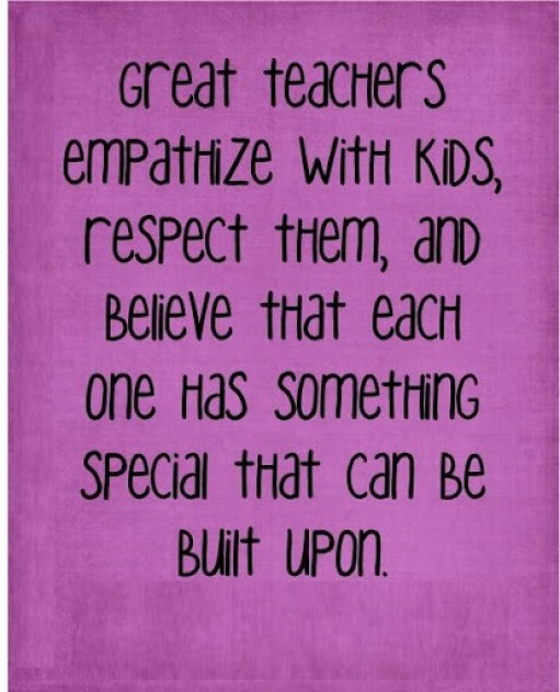 Teacher quotes to inspire students