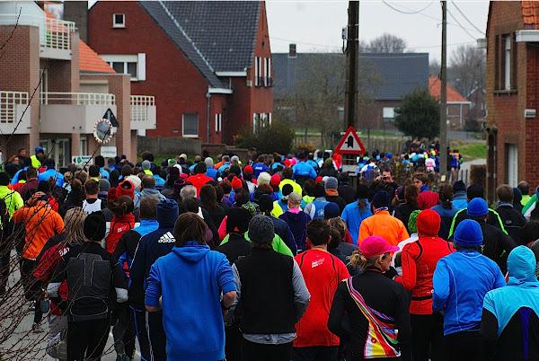 335 lopers voor Lenteloop Gits
