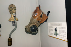 Gas masks, even for horses.