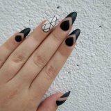 black nail designs 2017 trends ideas