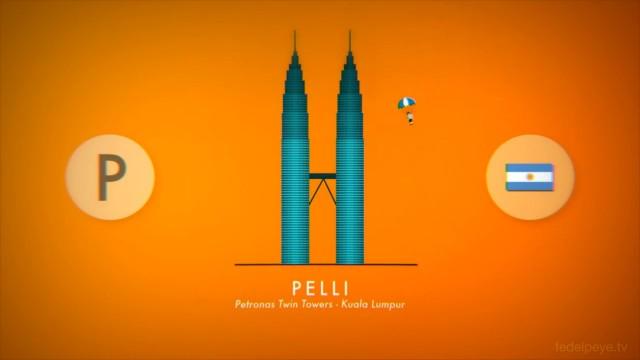 *ABC建築師 A~Z 26個英文字母創意動畫:介紹世界各國特色建築的趣味短片! 1