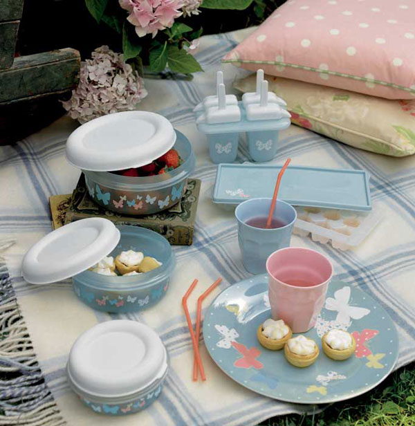 Decorar un picnic