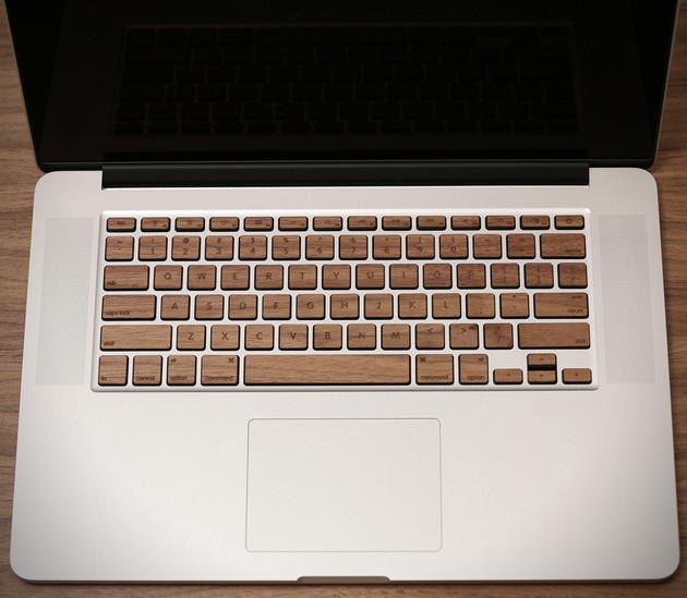 *指尖上滑順的觸感:Lazerwood 木質鍵盤! 6