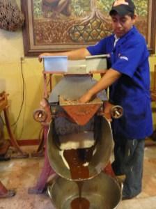 Oaxaca. le chocolat