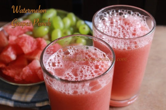 Watermelon Grapes Punch3