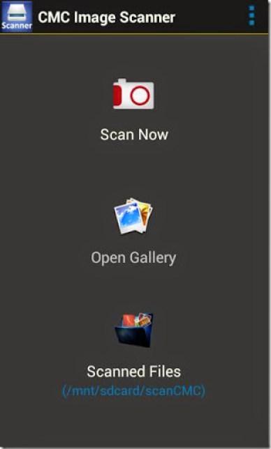 cara menjadikan hp android menjadi scanner dokumen