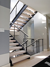 Stair Railing Ideas | Handrails For Steps Indoors | Staircase Around Lift Wall | Glass Panel Stainless Steel Handrail | Narrow Staircase Brushed Nickel | Width Hand | Minimalist