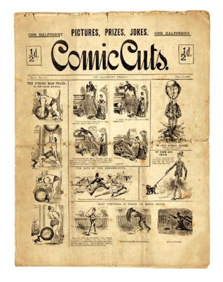 Comic Cuts Issue 1