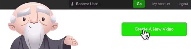 Click 'Create A New Video'