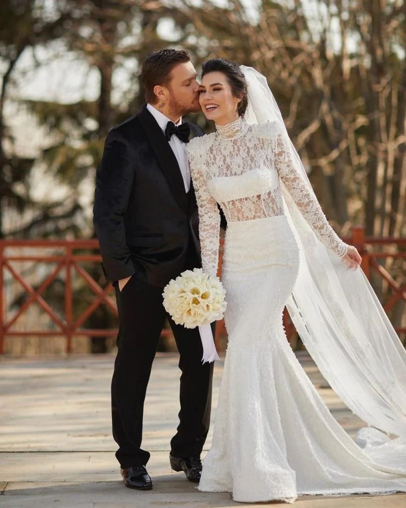 Ertugrul Actress Burcu Keratli wedding