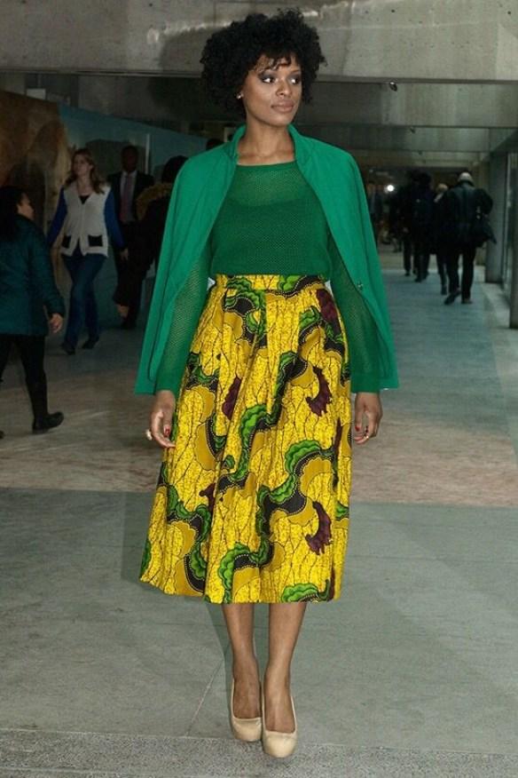 Elegant Ankara Short Gown Styles & Ankara Vibrant Dresses For Ladies ...