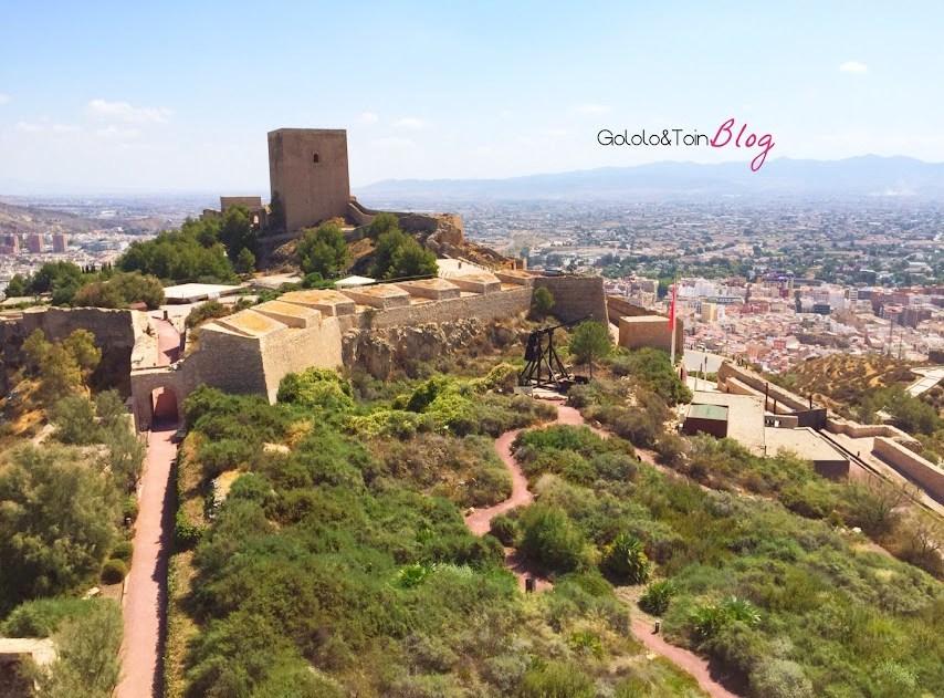 fortaleza-sol-lorca-murcia-castillos-españa-torre-medieval-epoca