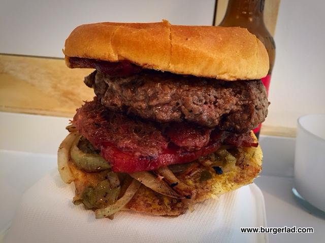 Bangers and Bacon Bacon Burger Bomb