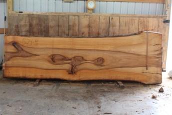 """525 Bass Wood -4 10/4 x 50"""" x 39"""" Wide x 12' Long"""