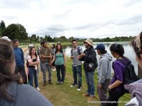 En el parque Simón Bolivar