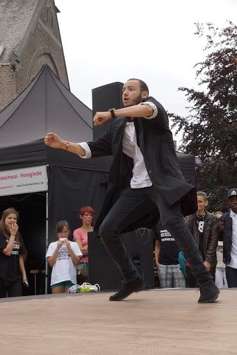 dansoptreden