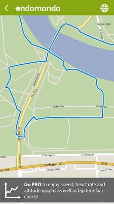 *推薦的運動健身紀錄好助理 :Endomondo Sports Tracker (Android App) 3