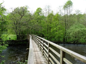 The bridge over the River Rothay