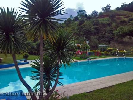 sierra madre swimming pool near the falls