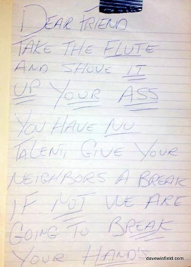 Neighbour Note 18