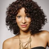 medium length hairstyles for curly hair 2017