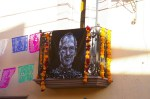 An offering altar for Steve Jobs on the Day of the Dead (Dia de las Muertos) one of the streets of San Miguel de Allende, Mexico.