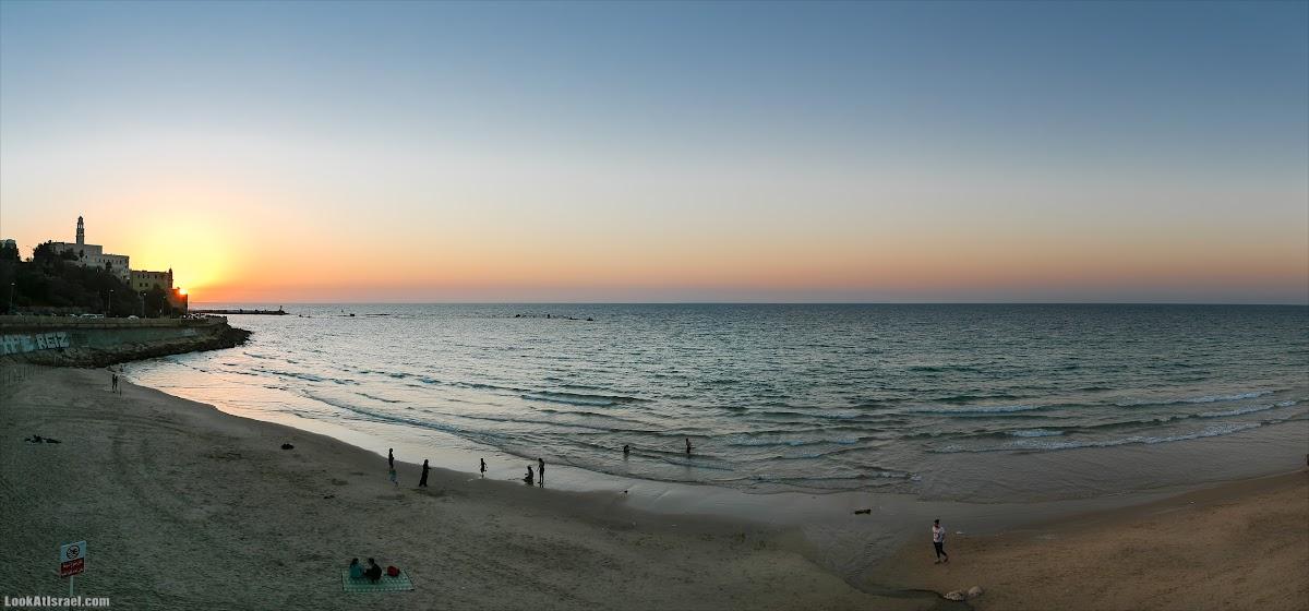 Панорамы Тель-Авива   Panoramic Tel-Aviv   LookAtIsrael.com - Фото путешествия по Израилю