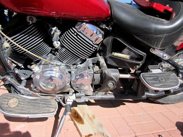 V Star 650 Neutral Switch Oil Leak Fix | Zia Rider Blog