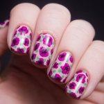 Spring Floral Nail Art Designs 2017