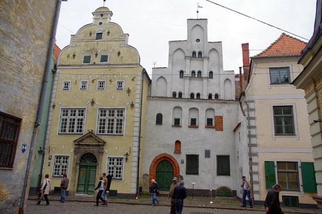 Qué ver en Riga. Tres Hermanos, Riga