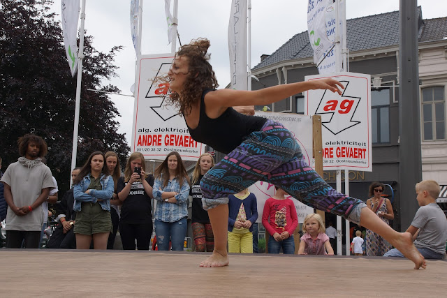 dansoptreden Morgane