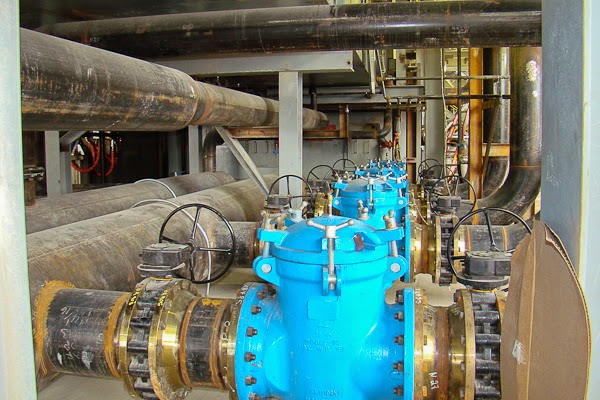 Systems Contracting Steel Mill Cooling Water Piping