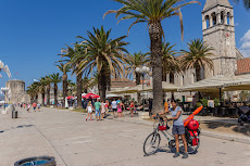 Beachfront in Trogir