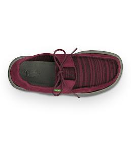 #Sanuk 麂皮民俗異材拼接:RAMBLER一孔鞋! 4
