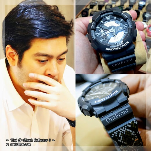 Thai G-Shock Collector G-Shock รุ่นหายาก ontfront