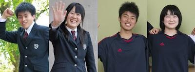 九州国際大学付属高等学校の女子の制服1
