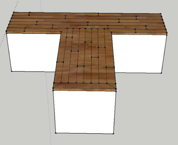 How to build a countertop out of hardwood flooring