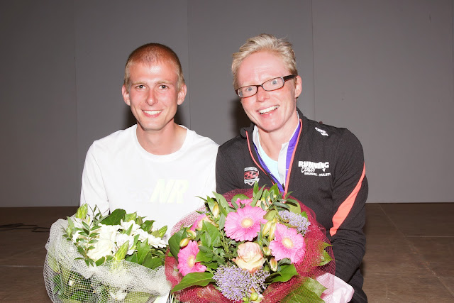 de winnaars van de stratenloop Dwars over de Mandel 2015