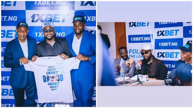 Davido Signs Multi-Million Naira Contract With 1XBET   #Davido1XBET Video