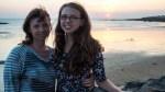 Abends am Strand in Betignolles-sur-Mer / Вечером на берегу в Бретиньоль-сюр-Мер