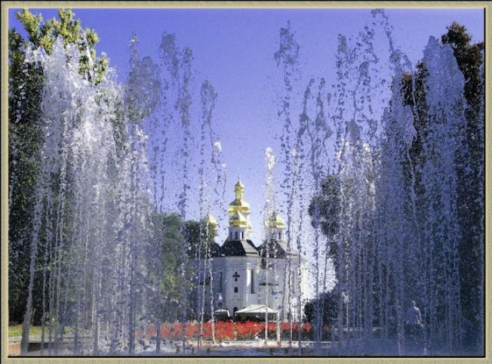 современный город Чернигов