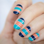 15+ Nails with striping tape
