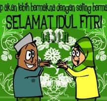 Facebook Ikut Takbir di Hari Raya Idul Fitri 1431 H