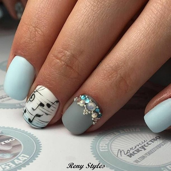Latest cute nail designs for girls 2017 reny styles are affected their nails in the movies app songs and in advertisements etc today i am advance afore you 16 best attach art designs account of 2017 prinsesfo Image collections