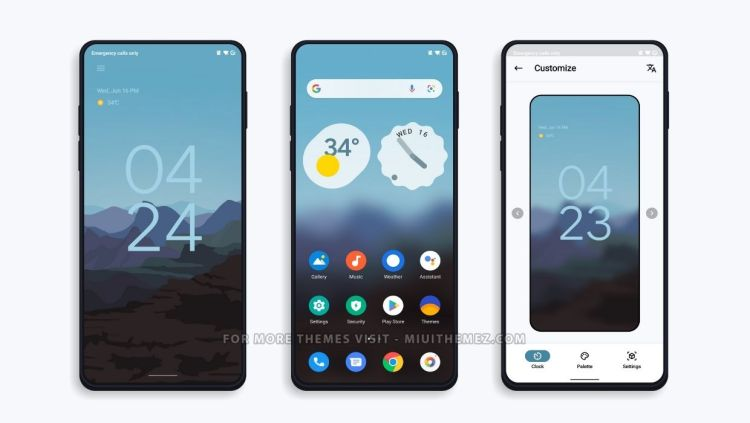 [DOWNLOAD] : Google MIUI Theme with Android 12 Like Lockscreen for Xiaomi Devices