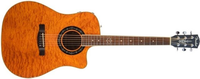 Fender T-Bucket 300CE Cutaway Acoustic-Electric Guitar