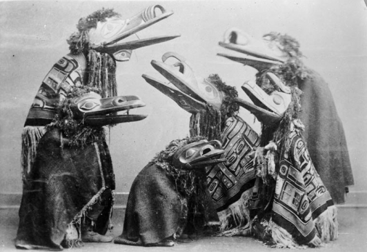 Tlingit 'raven' costumes