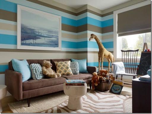 Dipingere le pareti a righe è un modo semplice per rendere una stanza più moderna e per conferirle maggiore carattere. Decorare Le Pareti Con Strisce Dipinte