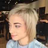 trendy short shag hairstyle designs 2017
