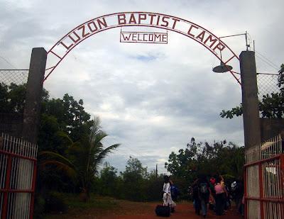 Day 1 - Luzon Baptist Church Camp gate